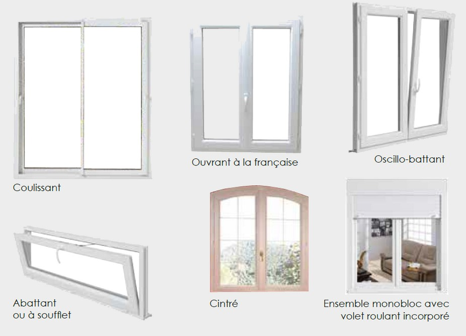 Profil fenetre pvc renovation for Menuiserie fenetre pvc