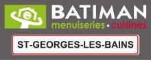Logo BATIMAN St Georges Les Bains