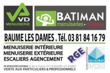 magasin VD Menuiserie BATIMAN BAUME LES DAMES