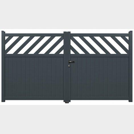portail aluminium battant corva batimanportail aluminium battant corva batiman