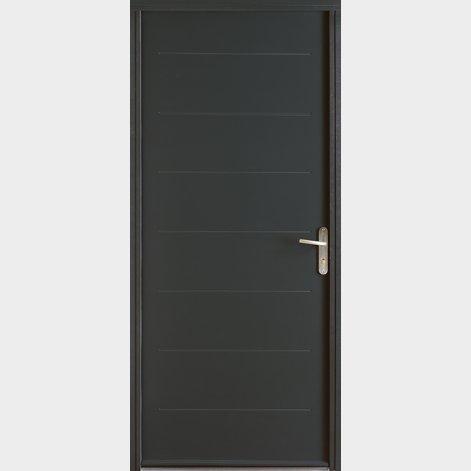 porte d'entrée VOLTA en acier BATIMAN