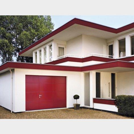 porte de garage sectionnelle a ouverture laterale. Black Bedroom Furniture Sets. Home Design Ideas