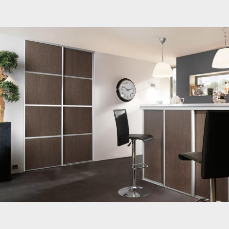 panneaux d cor gris de macassar batiman experts en menuiseries et cuisines. Black Bedroom Furniture Sets. Home Design Ideas