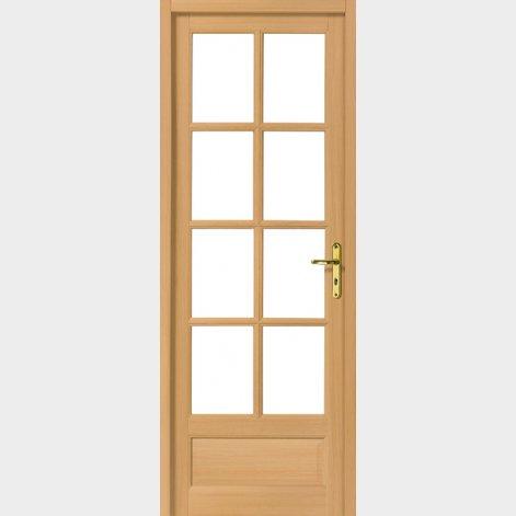 porte classique bois exotique manouka