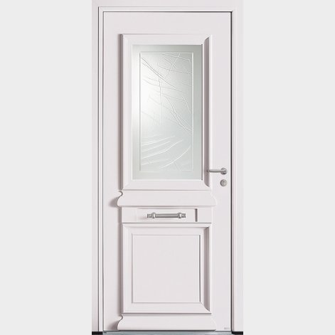 porte entree aluminium traditionnelle druma batiman