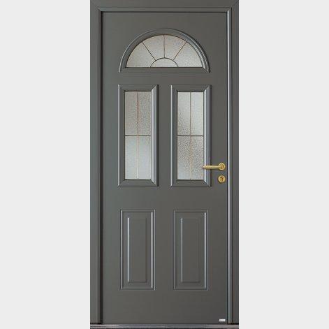 porte entree aluminium traditionnelle eluard batiman