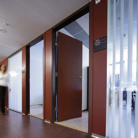 Porte coupe feu batiman experts en menuiseries et cuisines - Porte interieure coupe feu ...