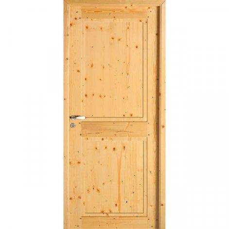 porte interieure traditionnelle Kilda BATIMAN sapin brut
