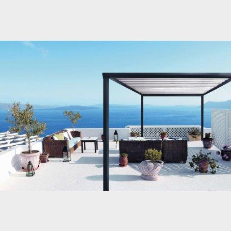 pergola aluminium batiman experts en menuiseries et cuisines. Black Bedroom Furniture Sets. Home Design Ideas