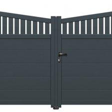 portail aluminium battant bamba batiman