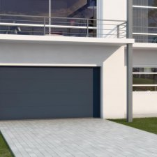 Portes de garage batiman experts en menuiseries et - Poignee de porte de garage sectionnelle ...