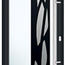 Tropea porte entree aluminium batiman