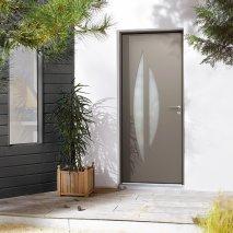 Porte d'entrée Tortoli aluminiumde  style contemporain