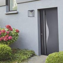 porte d'entree vitrée Vivara aluminium batiman