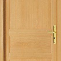 porte interieure classique bois exotique