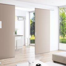 suspendue sans rail au sol batiman experts en menuiseries et cuisines. Black Bedroom Furniture Sets. Home Design Ideas