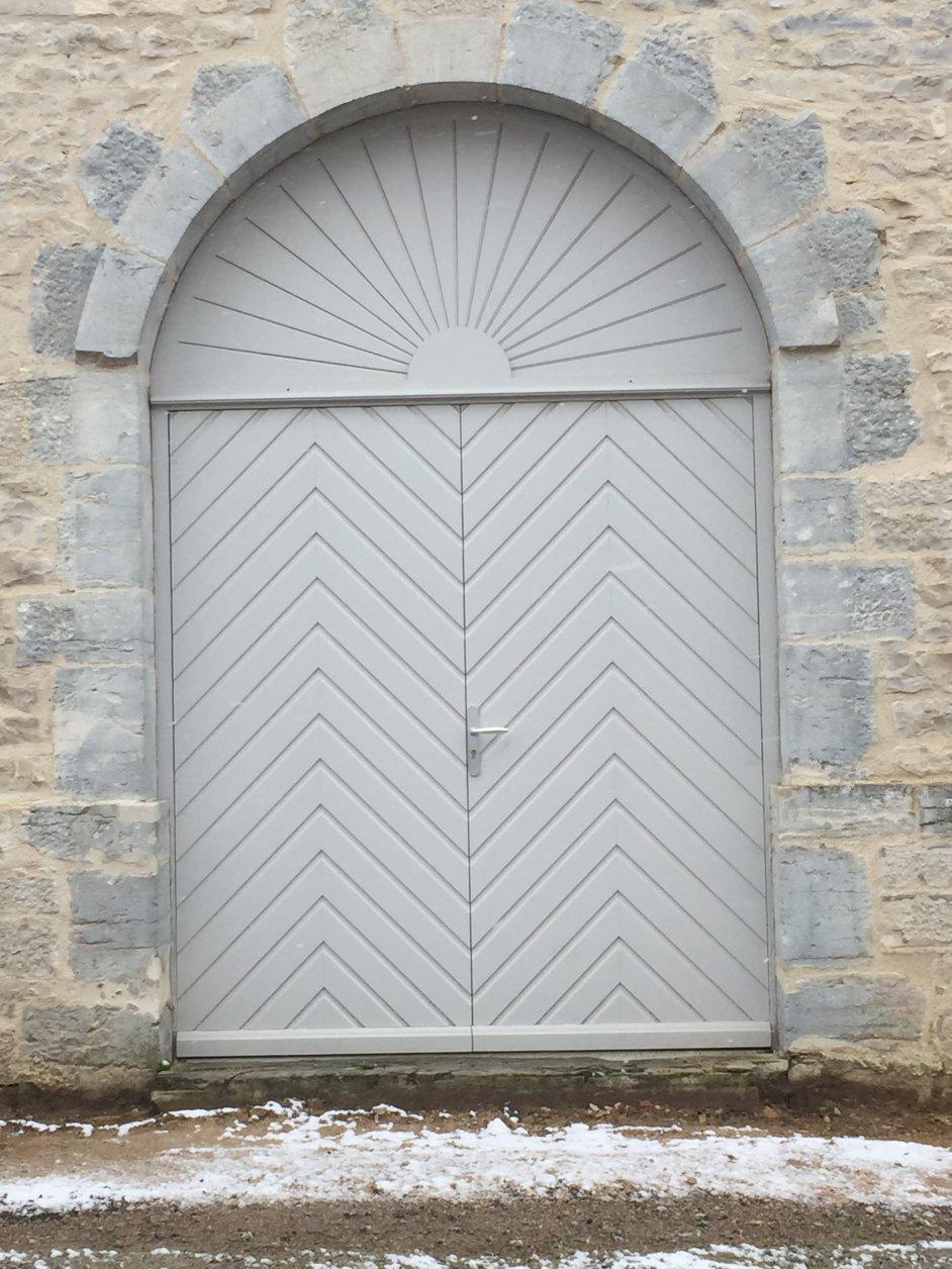 Rénovation d'une porte bois sur mesure