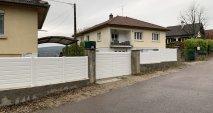 Portail coulissant et clôture PVC
