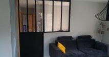 Création d'une verrière avec sa porte intérieur assortie