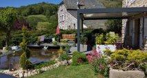 Pergola bucolique jardin Multibois La Roche Blanche Brioude Auvergne